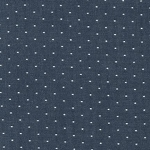 Cotton Chambray Dots in Indigo